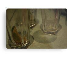 Drinks Gone Metal Print