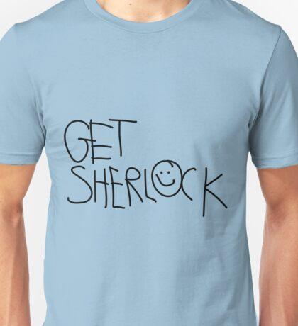 Get Sherlock (black) Unisex T-Shirt