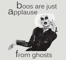 Sharon Needles Drag Race Boos are just applause from ghosts