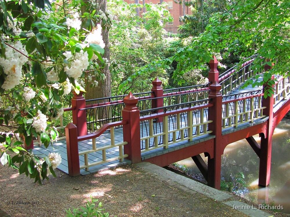 Crim Dell Bridge III by Jennie L. Richards