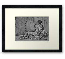 Nude Male Framed Print