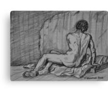 Nude Male Canvas Print
