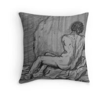 Nude Male Throw Pillow
