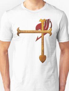 Erza Scarlet Heart Kreuz Unisex T-Shirt