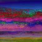 Abstract Painting - Distant Fire by colorpoetry