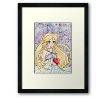 A Soft Melody  Framed Print