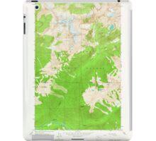 USGS Topo Map Washington State WA Downey Mtn 240892 1963 24000 iPad Case/Skin