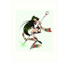 Sailor Time Lord Art Print