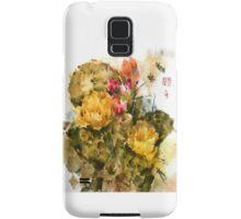 Southwest Sumi- Prickley Pear Samsung Galaxy Case/Skin