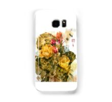 Southwest Sumi- Prickley Pear Samsung Galaxy Case/Skin
