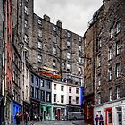 Looking up West Bow by Tom Gomez
