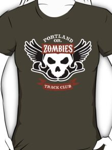 Portland Zombies Track Club Crest (dark) T-Shirt