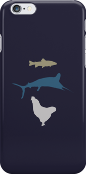 The Marlin, the Trout, and the Chicken by ilonatoth