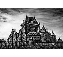 Fairmont Le Chateau Frontenac Photographic Print
