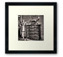 Bedroom cameo ~ Monte Cristo, Junee (NSW) Framed Print