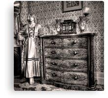 Bedroom cameo ~ Monte Cristo, Junee (NSW) Canvas Print