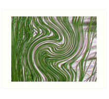 Reeds Whispering to the Wind Art Print