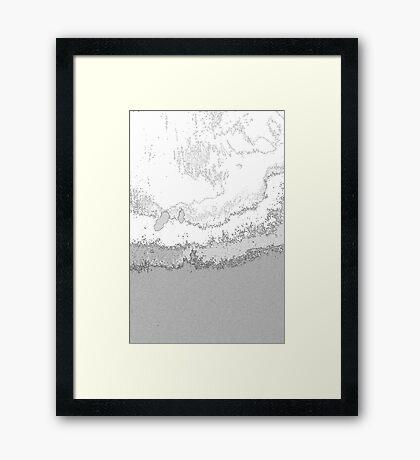 Geography l Framed Print