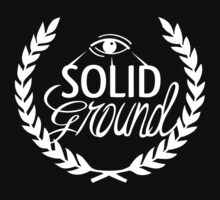 Solid Ground White Baby Tee