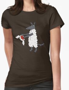 Mr Wolf's dinner suit. Womens Fitted T-Shirt