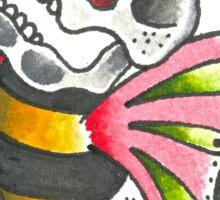Bee Skull Sticker