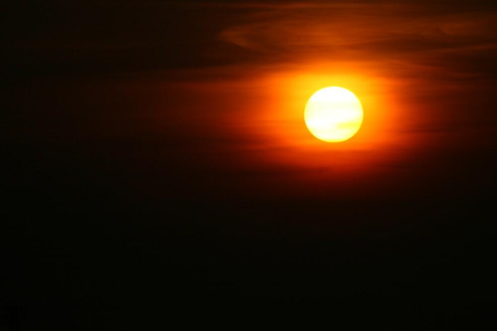 Dark Sunset by Adam Northam