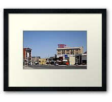 Small Town Nevada Framed Print
