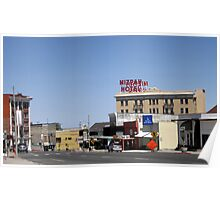 Small Town Nevada Poster