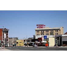 Small Town Nevada Photographic Print