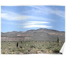 Desert Action Poster