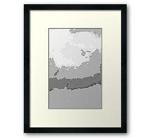 Geography ll Framed Print