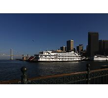 Berthed Photographic Print