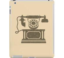 Vintage phone iPad Case/Skin