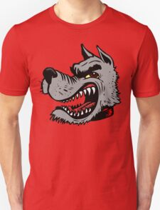 Angry Wolf (Red Collar) T-Shirt