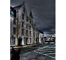 The Haunted Hotel, Oban, Scotland..............! Photographic Print