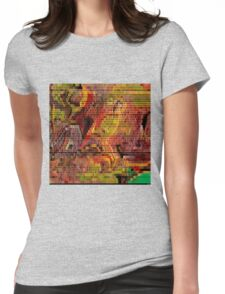 1393 Abstract Thought Womens Fitted T-Shirt
