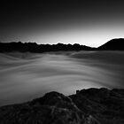 River of Fog B+W Edition by Francis Carmine