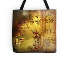 The Death of Mary Ann Tote Bag