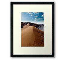Moon Valley - Atacama Desert - Chile Framed Print