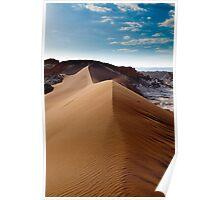 Moon Valley - Atacama Desert - Chile Poster