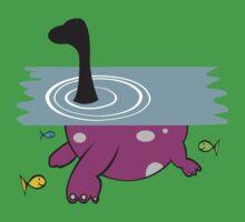 Loch Ness Monster One Piece - Short Sleeve