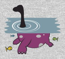Loch Ness Monster One Piece - Long Sleeve