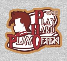 Dwarven Vow #10 - Play hard, play often! Kids Clothes