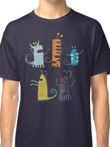 Secretly Vegetarian Monsters Classic T-Shirt