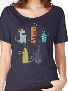 Secretly Vegetarian Monsters Women's Relaxed Fit T-Shirt