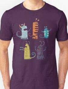Secretly Vegetarian Monsters Unisex T-Shirt