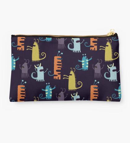 Secretly Vegetarian Monsters Studio Pouch