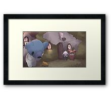 Kumasyun | クマシュン | Cubchoo (We Bare Bears) Framed Print