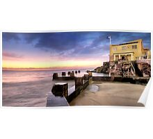 Coogee Baths Sunrise Poster