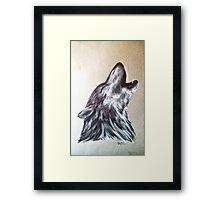 """""""Western Wolf"""" Framed Print"""